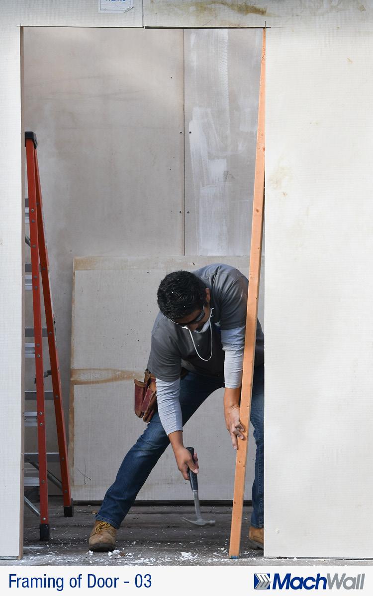 03_Framing_of_door